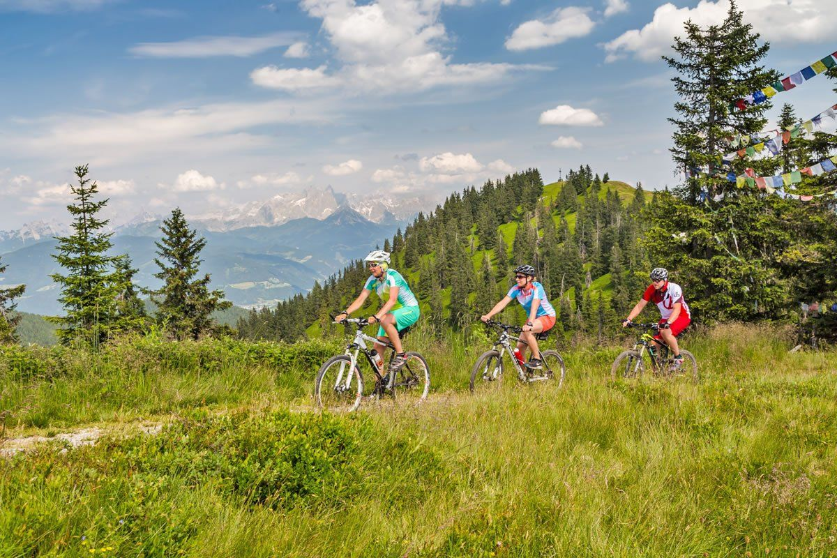 Summer holiday in Austria for sporty people and nature lovers