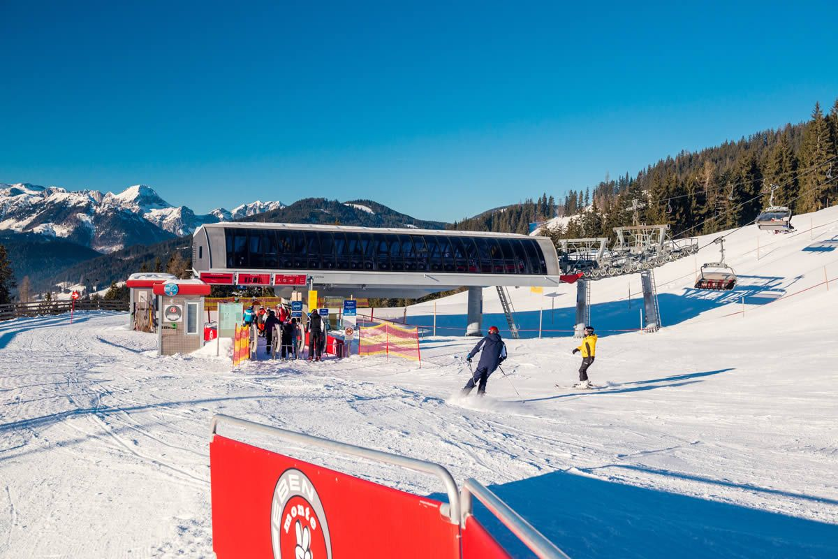 "Skiing resort ""monte popolo"", which is especially geared towards families with children"